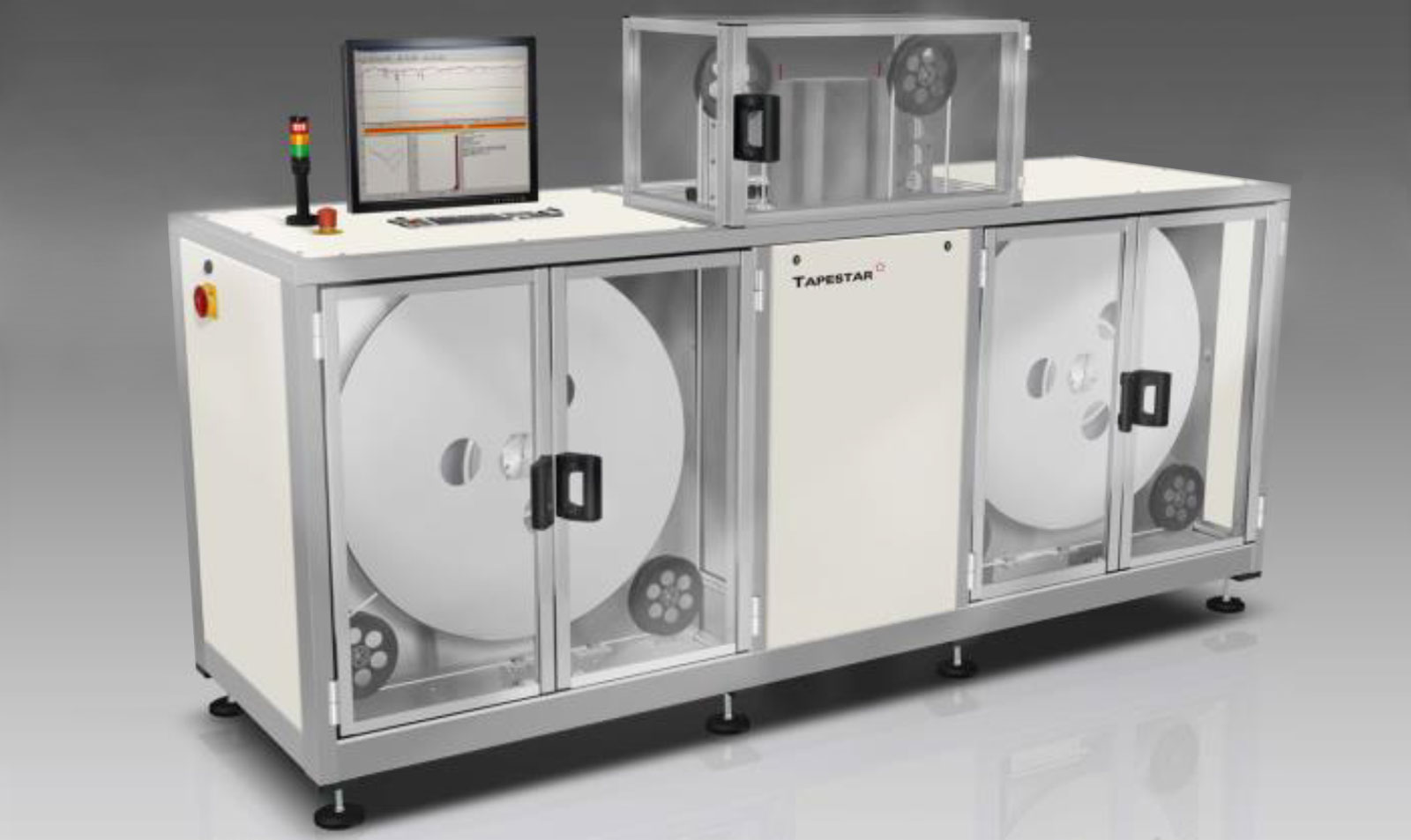 Our TAPESTAR XL ™ is a tool for quality control of superconducting wire and detects local defects as well as inhomogeneities.